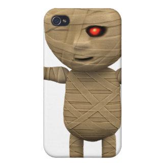 3d Mummy Haunts iPhone 4 Covers