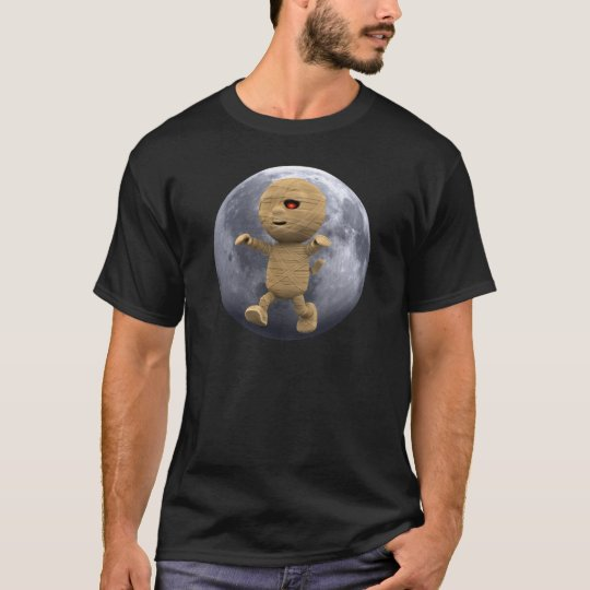 3d-mummy-moon T-Shirt