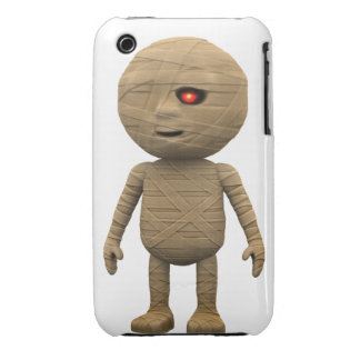 3d Mummy Stands (Any Color U Like!) iPhone 3 Cases