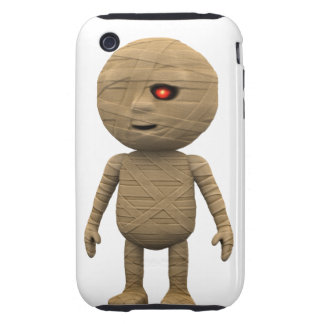 3d Mummy Stands (Any Color U Like!) Tough iPhone 3 Cover