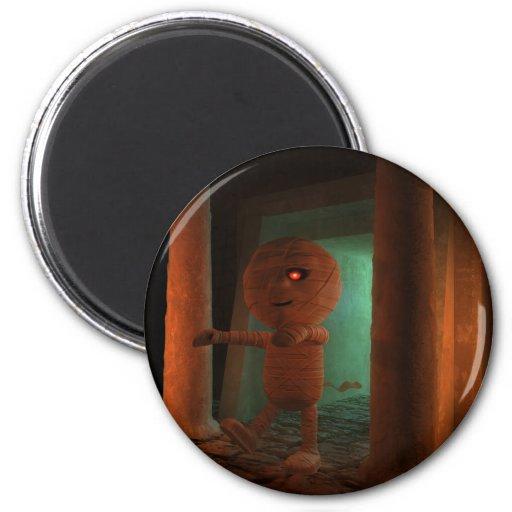 3d-mummy-tomb fridge magnet