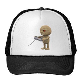3d-mummy-videogame trucker hat