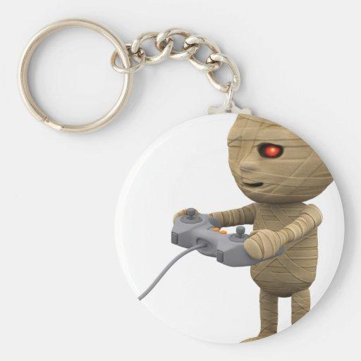 3d-mummy-videogame llavero redondo tipo pin