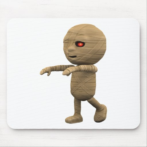 3d-mummy-walk mouse pad
