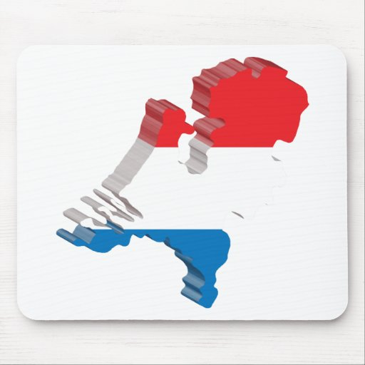 3D Netherlands Mouse Pad