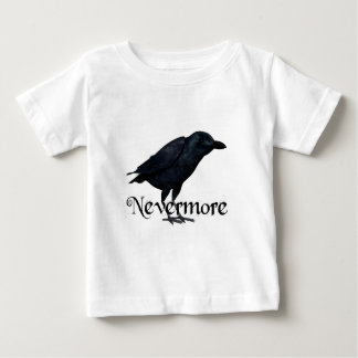 3D Nevermore Raven Baby T-Shirt