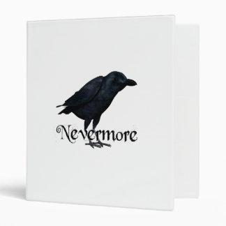 3D Nevermore Raven Binder