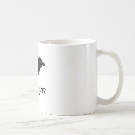3D Nevermore Raven Coffee Mug