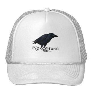 3D Nevermore Raven Mesh Hats