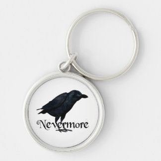3D Nevermore Raven Keychains