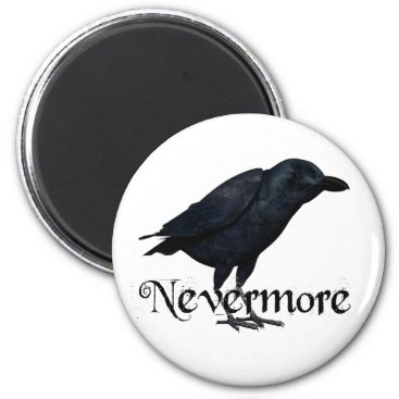 EAPoetry 3D Nevermore Raven Magnet