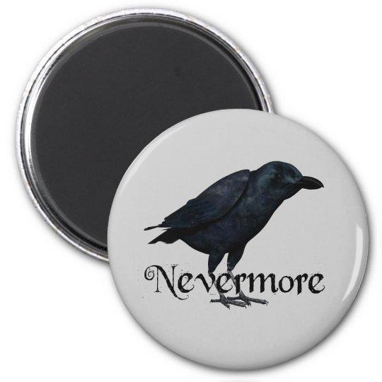 3D Nevermore Raven Magnet