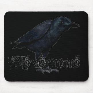 3D Nevermore Raven Mouse Pad