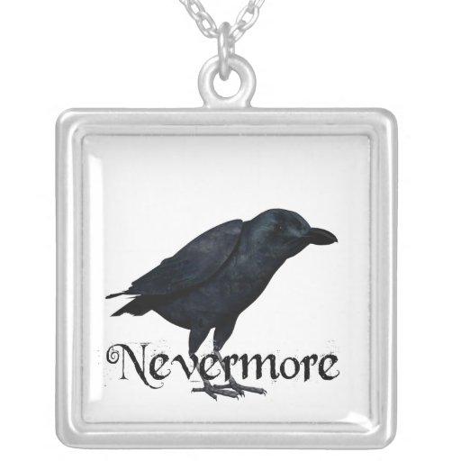 3D Nevermore Raven Necklaces