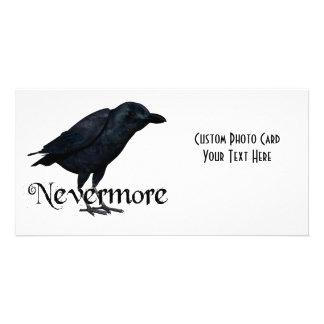 3D Nevermore Raven Picture Card