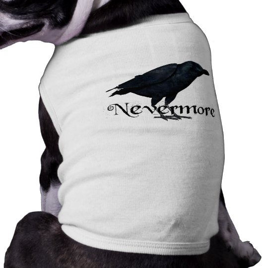 3D Nevermore Raven T-Shirt