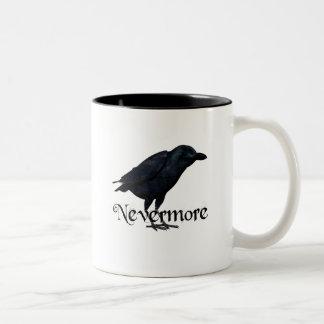 3D Nevermore Raven Two-Tone Coffee Mug