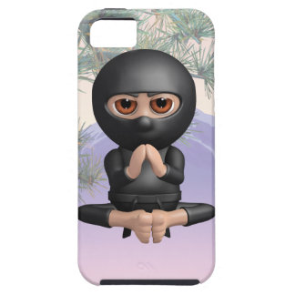 3d Ninja Meditating iPhone SE/5/5s Case