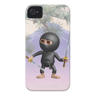3d Ninja with two Swords iPhone 4 Case-Mate Case