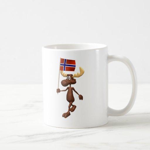3D Norway Coffee Mug