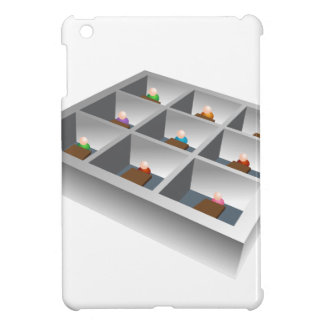 3d Office Cubicles Cover For The iPad Mini