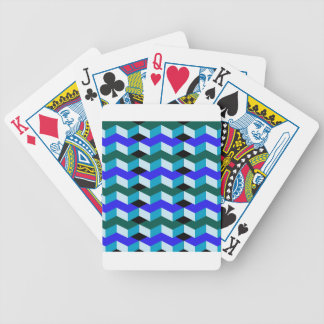 3d optical illusion bicycle playing cards