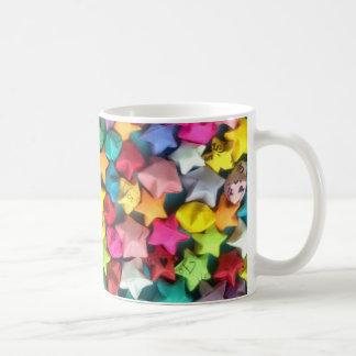 3D Origami Stars Coffee Mugs