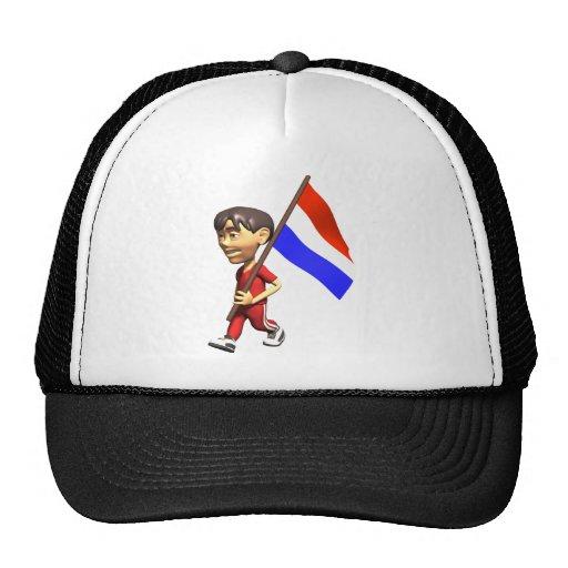 3D Países Bajos Gorro
