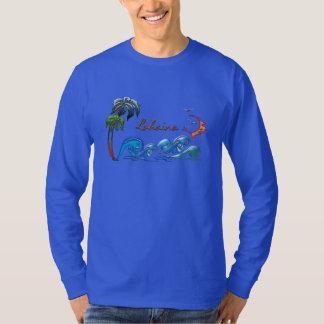 3d Palms, Waves & Sunset LAHAINA T-Shirt