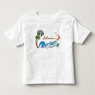 3d Palms, Waves & Sunset LAHAINA Toddler T-shirt