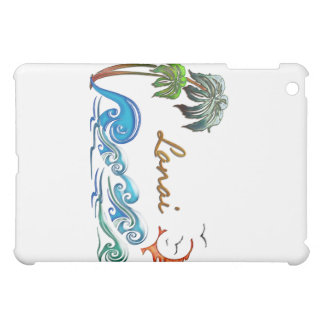 3d Palms, Waves & Sunset LANAI Case For The iPad Mini