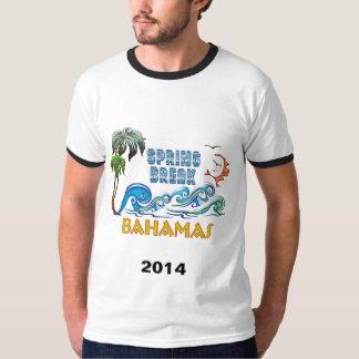 3D Palms Waves Sunset Spring Break BAHAMAS Shirt