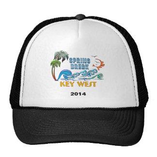 3D Palms Waves Sunset Spring Break KEY WEST Trucker Hat