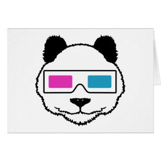 3D Panda Card