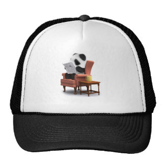 3d Panda Chair Trucker Hat
