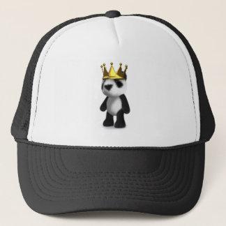 3d Panda King Trucker Hat