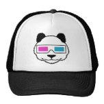 3D Panda Mesh Hat