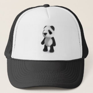 3d Panda Stands Still Trucker Hat
