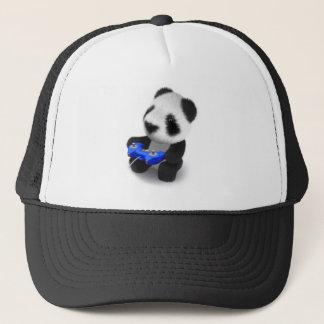 3d Panda Videogamer Trucker Hat