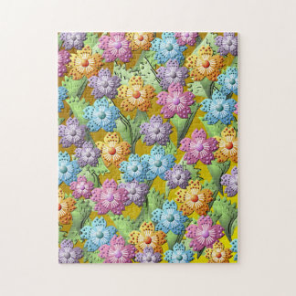 3D Paper Flower Garden Jigsaw Puzzle