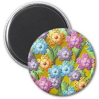 3D Paper Flower Garden Magnet