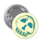 3D Paper Skull button