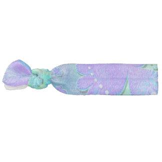 3D Pastel Flower Psychedelic Hair Tie