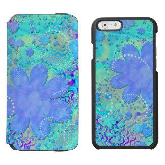3D Pastel Flower Psychedelic iPhone 6/6s Wallet Case