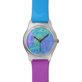 3D Pastel Flower Psychedelic Watches