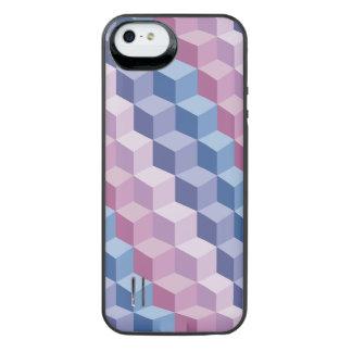 3D Pattern Cube Patte iPhone 5/5s Battery Case
