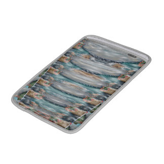 3d Pearl Precious Stone Collection MacBook Sleeves