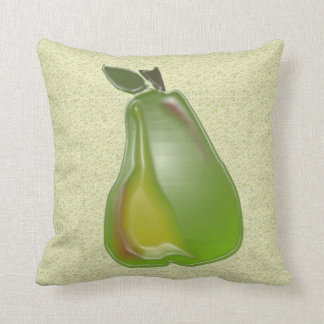 3D Pears (water speck) Pillows