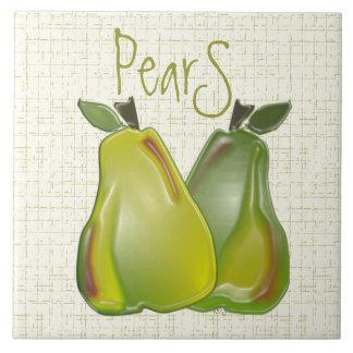 3D Pears (WC) Ceramic Tiles