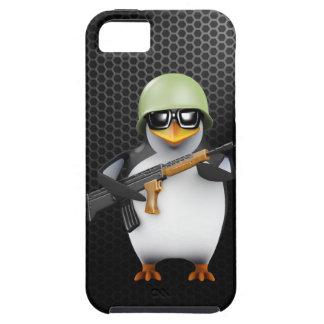 3d Penguin Soldier Advances iPhone SE/5/5s Case